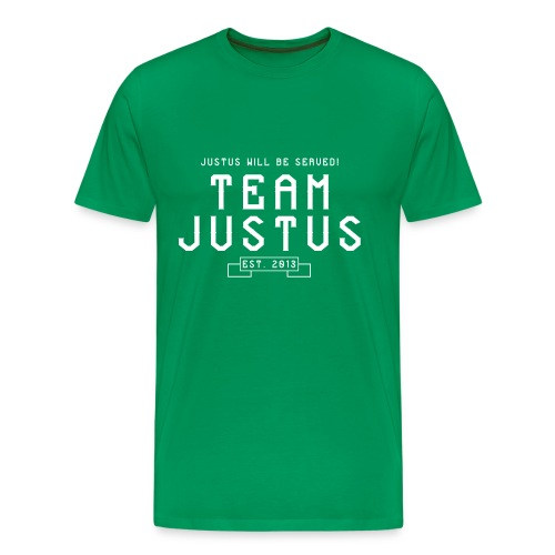 justus retro 2 - Men's Premium T-Shirt