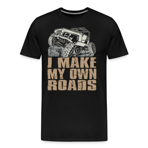 Jeep Make My Own Roads - Men's Premium T-Shirt