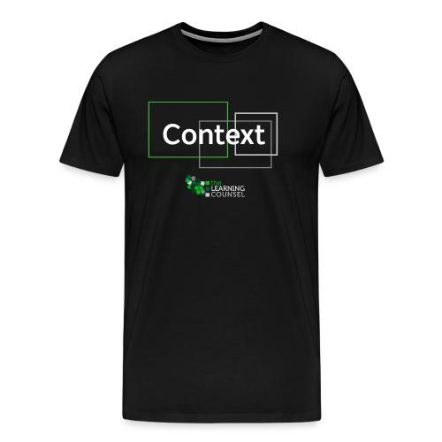 Context for the Education Shift - Men's Premium T-Shirt