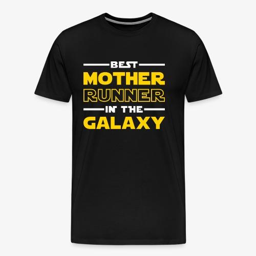 Best Mother Runner In The Galaxy - Men's Premium T-Shirt