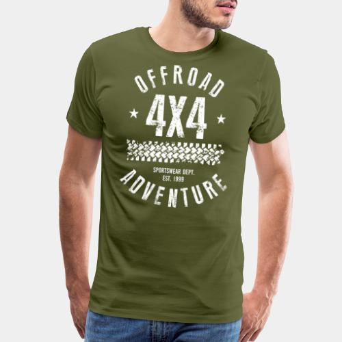 offroad avdenture truck - Men's Premium T-Shirt