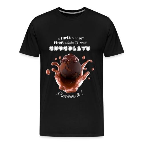 Planet chocolate - Men's Premium T-Shirt