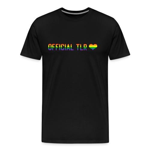 The Lesbian Romantic Merch - Pride Edition - Men's Premium T-Shirt