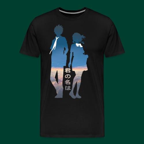 君の名は Image - Men's Premium T-Shirt