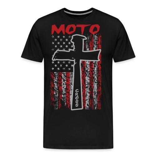 Motocross Christian - Men's Premium T-Shirt