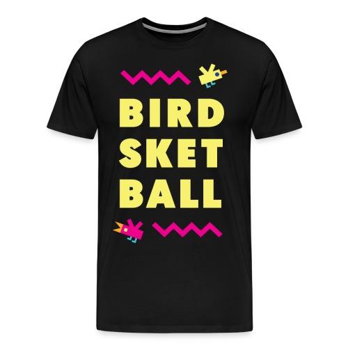 Birdsketball tall - Men's Premium T-Shirt