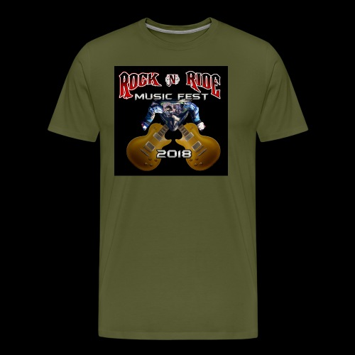 RocknRide Design - Men's Premium T-Shirt