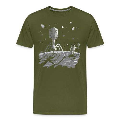The ebola virus has landed - Men's Premium T-Shirt
