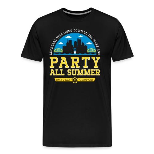 party all summer - Men's Premium T-Shirt