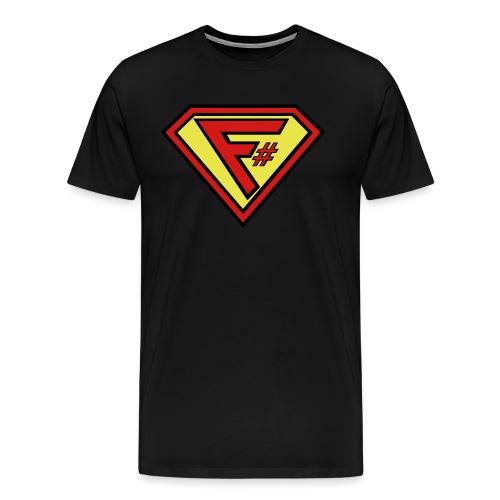 F# Hero Woman - Men's Premium T-Shirt