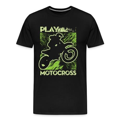 Dirt Bike Play Dirty - Men's Premium T-Shirt