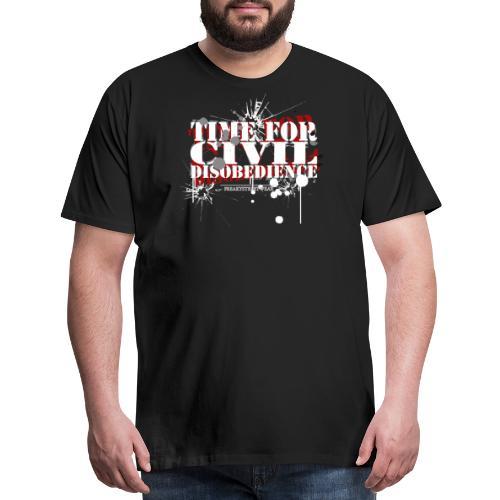 civil disobedience - Men's Premium T-Shirt