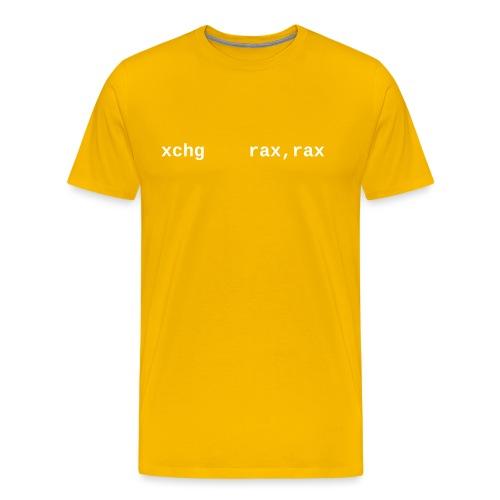 xchg_rax_rax - Men's Premium T-Shirt