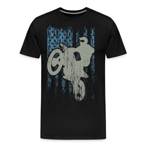 Supercross USA Stunt Racer - Men's Premium T-Shirt