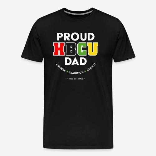 Proud HBCU Dad RGB - Men's Premium T-Shirt