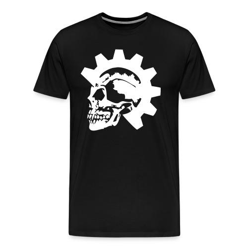 Gearhead Skull - Men's Premium T-Shirt
