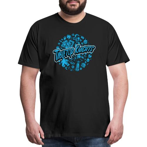 Blue Over The Top TTK - Men's Premium T-Shirt