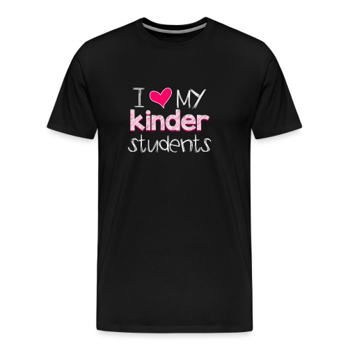 love my kinders png - Men's Premium T-Shirt
