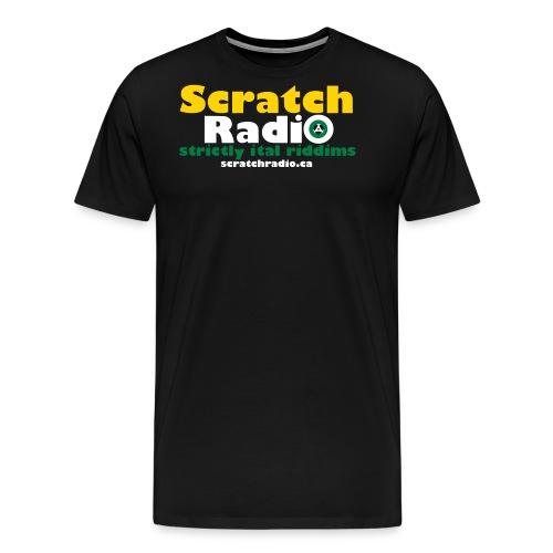 logo with url 3c - Men's Premium T-Shirt