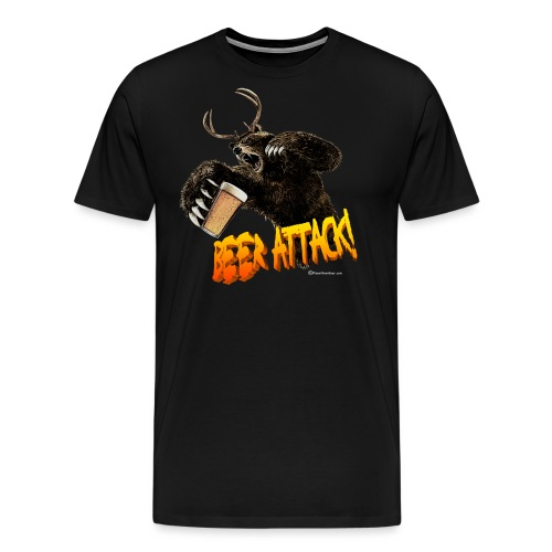 BEER ATTACK! - Men's Premium T-Shirt