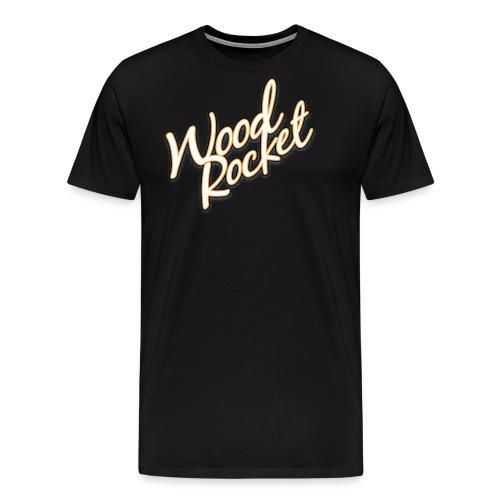 WoodRocket Classic - Men's Premium T-Shirt
