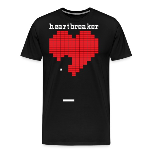Heartbreaker Valentine's Day Game Valentine Heart - Men's Premium T-Shirt