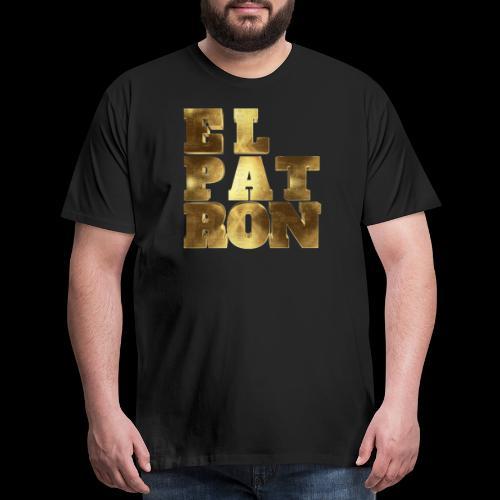El Patron El Jefe Pablo Typo - Men's Premium T-Shirt