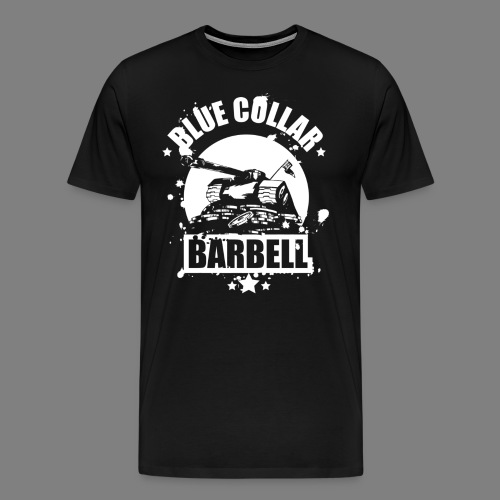 logo black shirts double - Men's Premium T-Shirt