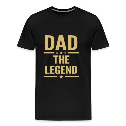 dad the legend - Men's Premium T-Shirt