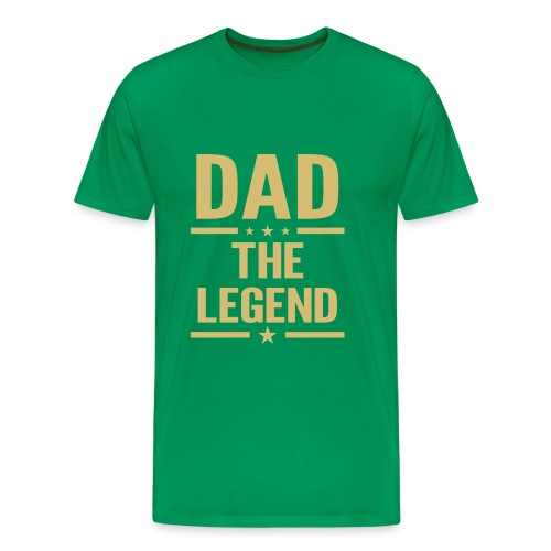 dad the legend - Men's Premium T-Shirt