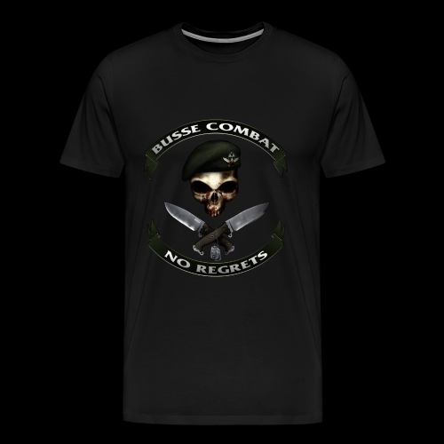 Busse Combat No Regrets - Men's Premium T-Shirt