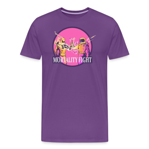 Mortality Fight - Men's Premium T-Shirt