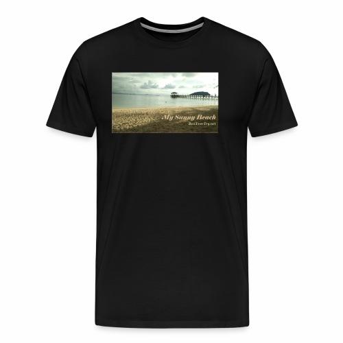 My Sunny Beach - Men's Premium T-Shirt