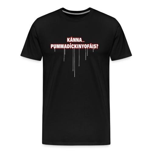 kaennapummadickinyofaeis2 - Men's Premium T-Shirt