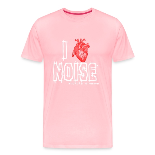 I Heart Noise Black - Men's Premium T-Shirt