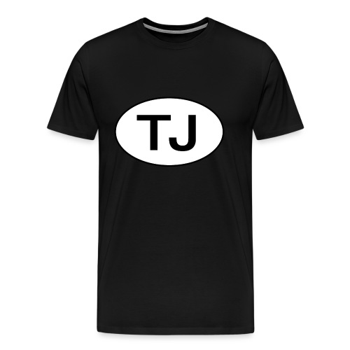 Jeep TJ Wrangler Oval - Men's Premium T-Shirt