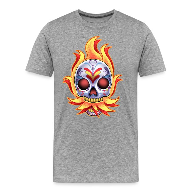 DoD Flame Skull by RollinLow