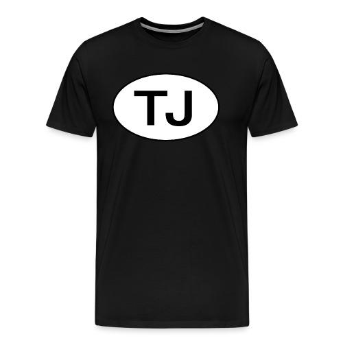 Jeep TJ Wrangler Oval - Men's Premium T-Shirt