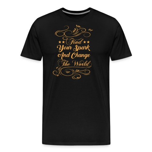 change the world - Men's Premium T-Shirt