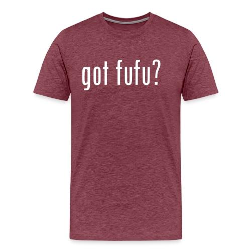 gotfufu-white - Men's Premium T-Shirt