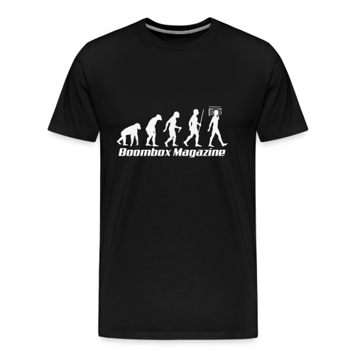 Evolution of Man White - Men's Premium T-Shirt