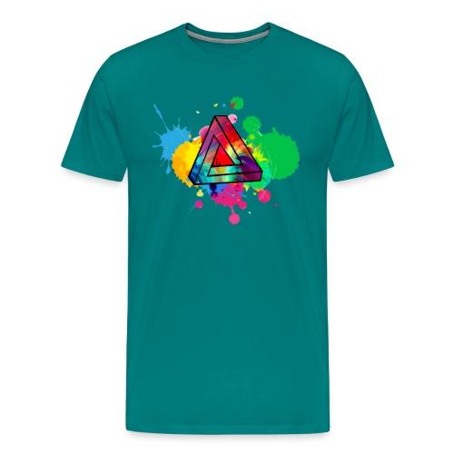PAINT SPLASH - Men's Premium T-Shirt