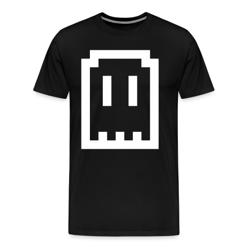 Ghost Logo - Men's Premium T-Shirt