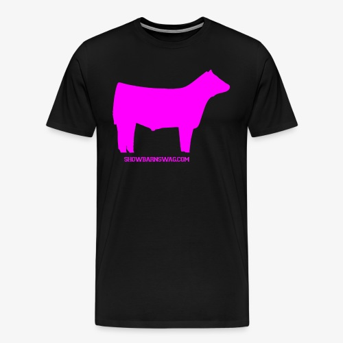 Show Steer Pink - Men's Premium T-Shirt