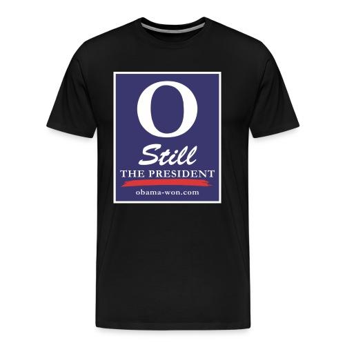 obama won shirts 300dpi - Men's Premium T-Shirt