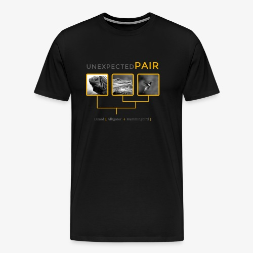 Unexpected pairs - Men's Premium T-Shirt