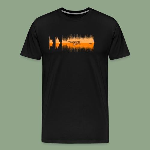 Troglodyte Dawn - Dood Waveform Shirt - Men's Premium T-Shirt