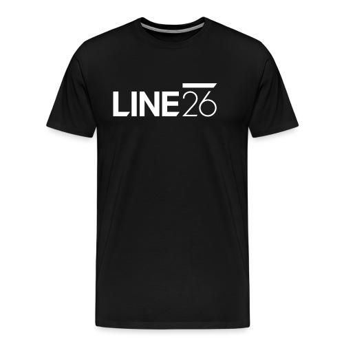 Line26 Logo (Light Version) - Men's Premium T-Shirt