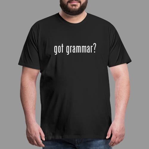 Got Grammar - Men's Premium T-Shirt