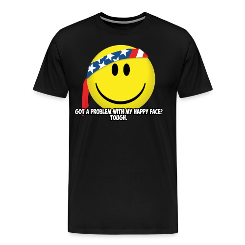 Happy Face USA - Men's Premium T-Shirt